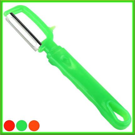 Нож экономка для овощей и фруктов боковой L17.5см лезвие 5см, фото 2