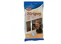 Ласощі для собак Trixie Stripes з ягням 10 шт 100 г