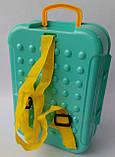 Набор для творчества Парикмахерская 8743WB набор с пластилином рюкзак, фото 4
