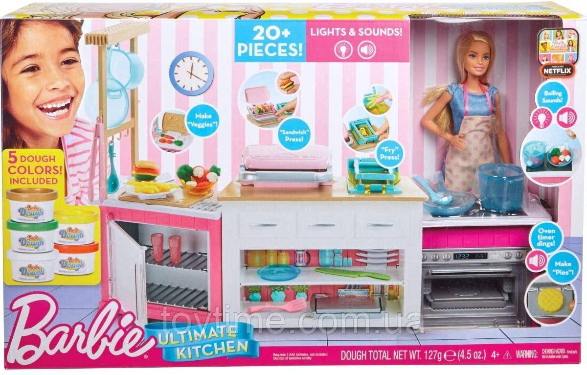 Ляльковий набір Барбі Готуємо разом / Barbie Ultimate Kitchen
