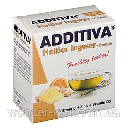 ADDITIVA HEISSE PULVER (120 G) ГЕРМАНИЯ Имбирь/апельсин