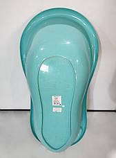 Б/У Детская ванночка Tega Baby Balbinka TG-029 102 см синяя, фото 3