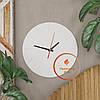 Круглые настенные часы со шкалой циферблата Код: W-1, фото 7