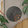 Круглые настенные часы со шкалой циферблата Код: W-1, фото 8