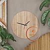 Круглые настенные часы со шкалой циферблата Код: W-1, фото 9