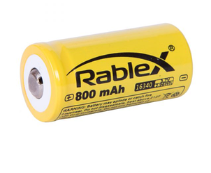 Аккумулятор Rablex 16340 800mAh Li-ION 3.7V