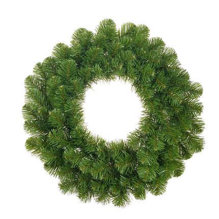 Венок ø 0,45 см. декоративный Norton зеленый, Black Box Trees®, фото 2
