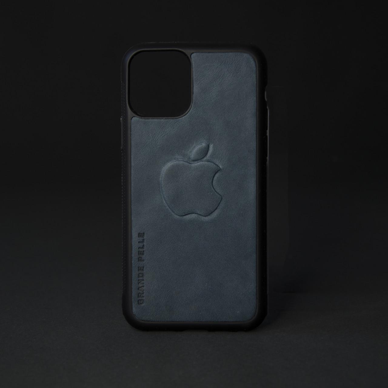 Кейс для IPhone, блакитний, з металевою вставкою для автотримача