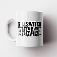 Чашка Killswitch Engage. Музыка. Metal. Метал. Чашка с фото, фото 1