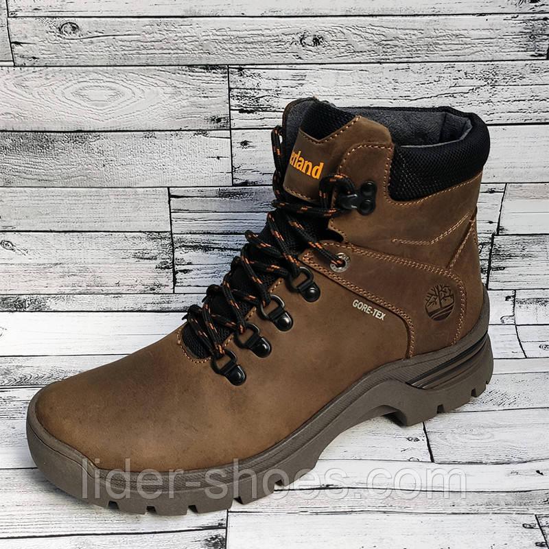 Ботинки мужские коричневые