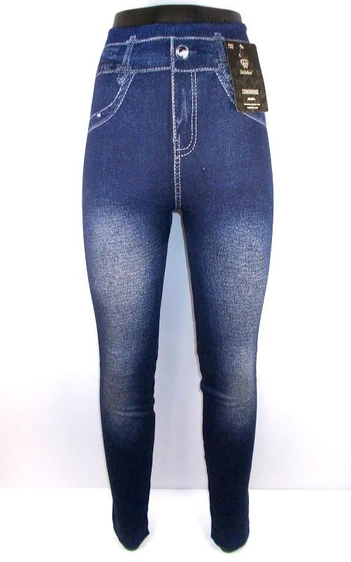 Лосины под джинс махровые бесшовные L-4XL модель 3
