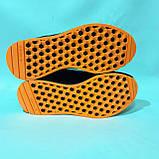 Зимние мужские замшевые кроссовки на меху Черные Маломерки, фото 7