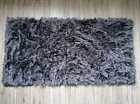 Коврик из искусственного меха, темно-серый