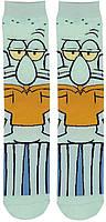 Прикольные высокие мужские носки Сквидвард, фото 2