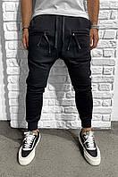 Мужские спортивные штаны (черные) ADA1046-2844
