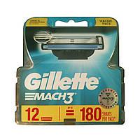 Сменные картриджи Gillette Mach3 12 шт (3014260323240)