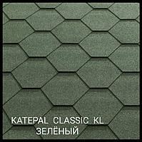 Мягкая черепица Katepal Classic KL зеленый (упк 3 м2)