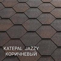Мягкая черепица Katepal Katrilli коричневый с тенью м2.