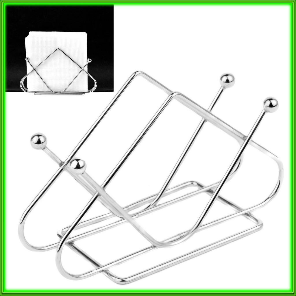 Металева підставка для серветок трикутна 13,5*3*8,5 см ( t3мм)