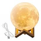 Лампа Луна 3D Moon Lamp Настольный светильник луна Magic 15 см 3DСвеночник светильник на сенсорном управлении, фото 6