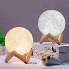 Лампа Луна 3D Moon Lamp Настольный светильник луна Magic 15 см 3DСвеночник светильник на сенсорном управлении, фото 9