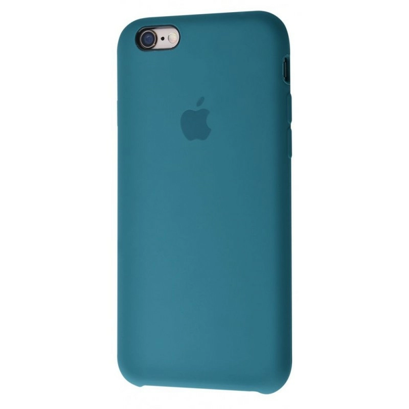Чохол Silicone Case (Premium) для iPhone 6 / 6s Alaskan Blue