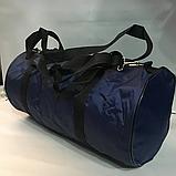 Дорожные спортивные сумки Nike из плащевки (В ЧЕРНОМ)24*47см, фото 3