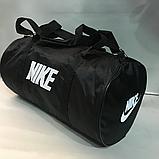 Дорожные спортивные сумки Nike из плащевки (СИНИЙ)24*47см, фото 2