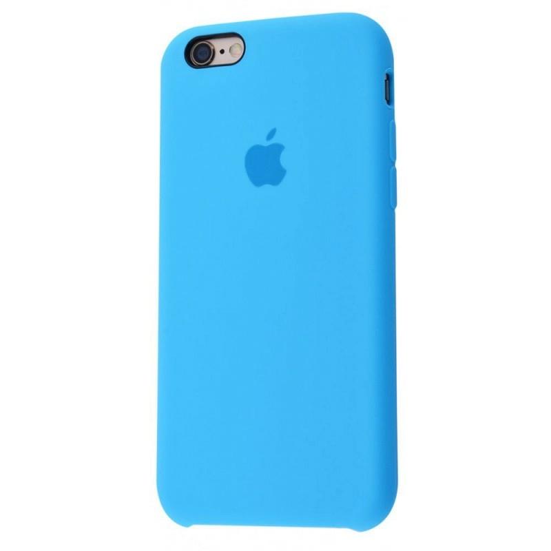 Чохол Silicone Case (Premium) для iPhone 6 / 6s Blue