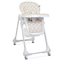 Детский стульчик для кормления M 3233 Leaf Beige