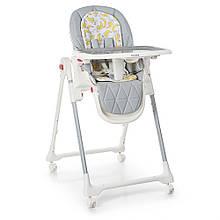 Дитячий стільчик для годування ME 1037 CRYSTAL Banana Gray