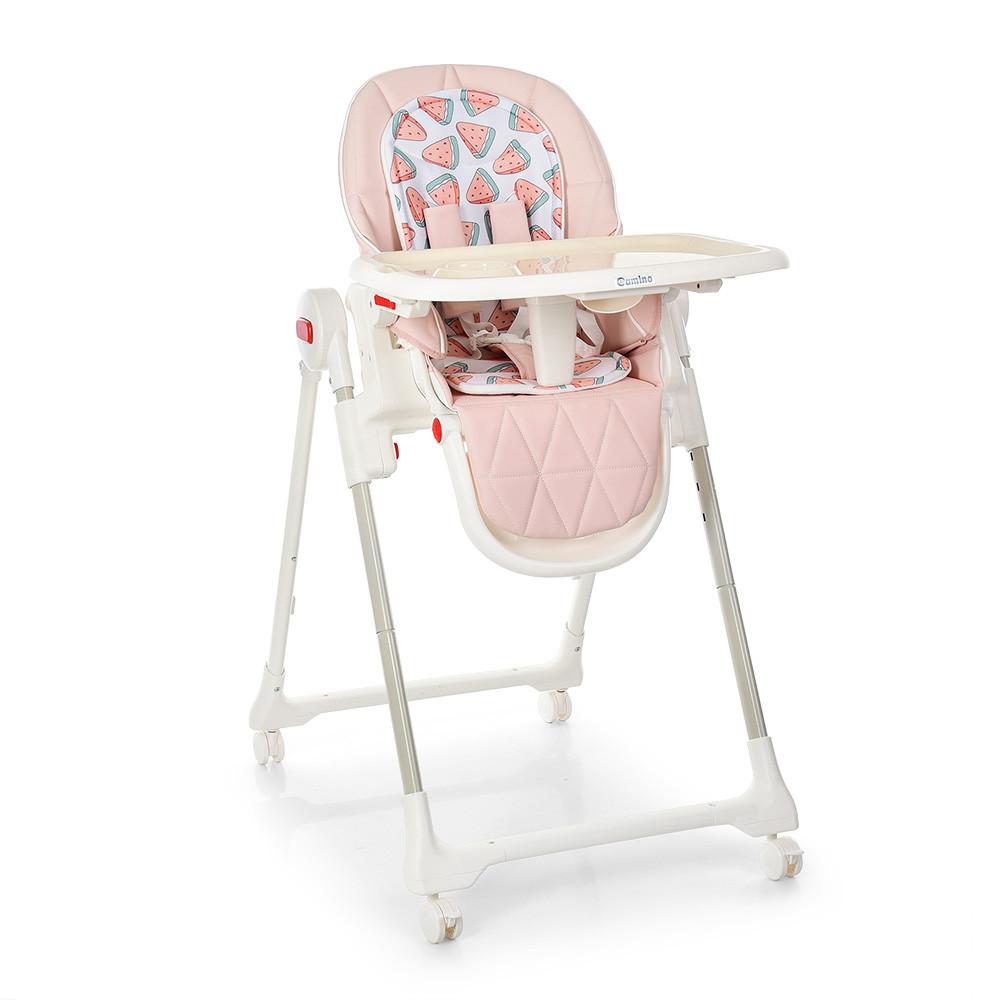 Дитячий стільчик EL CAMINO ME 1037 CRYSTAL Watermelon Pink