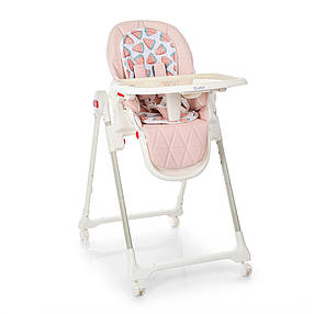 Дитячий стільчик EL CAMINO ME 1037 CRYSTAL Watermelon Pink, фото 2