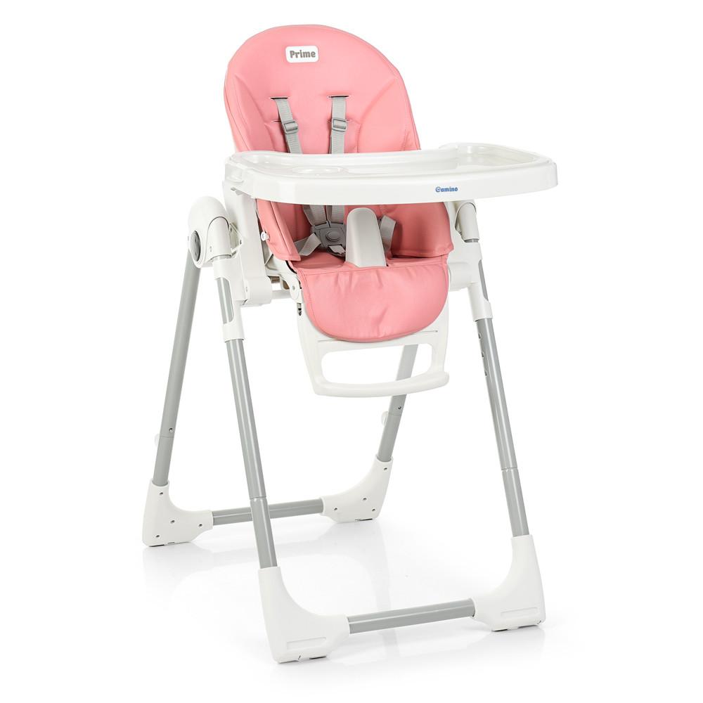 Стільчик для годування ME 1038 PRIME Flamingo