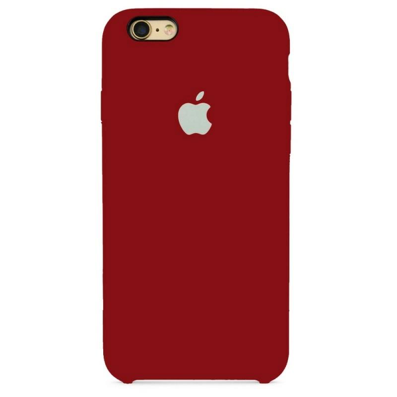 Чохол Silicone Case (Premium) для iPhone 6 / 6s Cherry