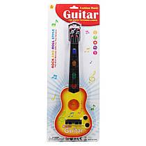"Гитара ""Fashion music"", желтая 908A"