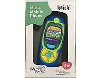 "Телефон интерактивный ""Music Phone"" (синий) K999-72B"