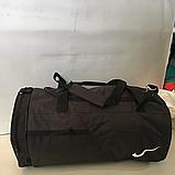 Спортивные сумки в ассортименте на 3отделения  (ЧЕРНЫЙ)22Х26Х47, фото 2