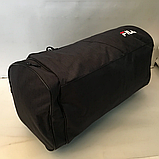 Спортивные сумки в ассортименте на 3отделения  (ЧЕРНЫЙ)22Х26Х47, фото 3