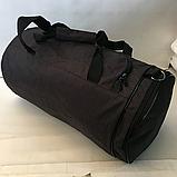 Спортивные сумки в ассортименте на 3отделения  (ЧЕРНЫЙ)22Х26Х47, фото 4