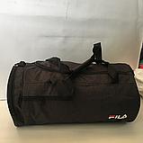 Спортивные сумки в ассортименте на 3отделения  (ЧЕРНЫЙ)22Х26Х47, фото 6