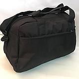 Спортивные сумки Adidas (ЧЕРНЫЙ)20х26х48см, фото 5