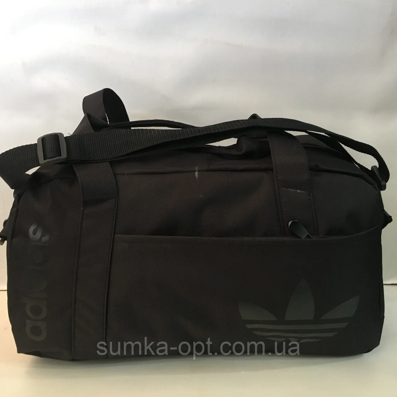Спортивные сумки Adidas (ЧЕРНЫЙ)20х26х48см