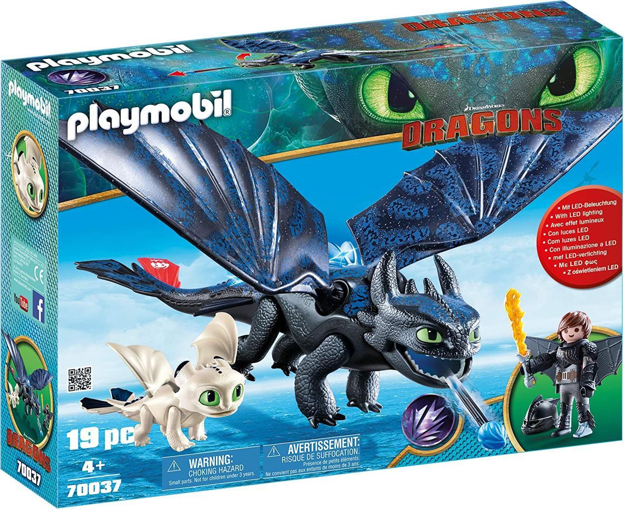 PLAYMOBIL Как приручить дракона Иккинг и Беззубик