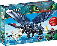 PLAYMOBIL Как приручить дракона Иккинг и Беззубик, фото 1