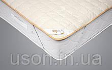 Наматрасник стеганый хлопок 160*200 резинка по углам ( TM Seral) Wool mattress protector, Турция