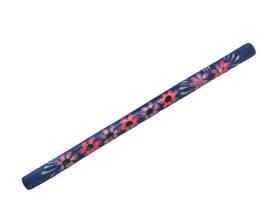 Дудочка с росписью (фиолетовая), 32 см Д214уа-1