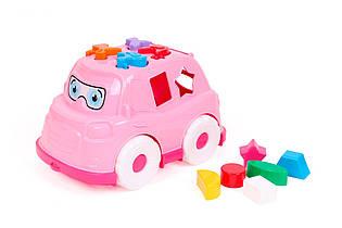 Сортер Автобус ТехноК (розовый) 5903