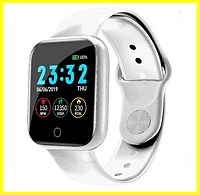 Умные смарт часы Smart Watch Finow P90 Silver (серебряные) с Bluetooth (блютуз), наручные умные фитнес часы
