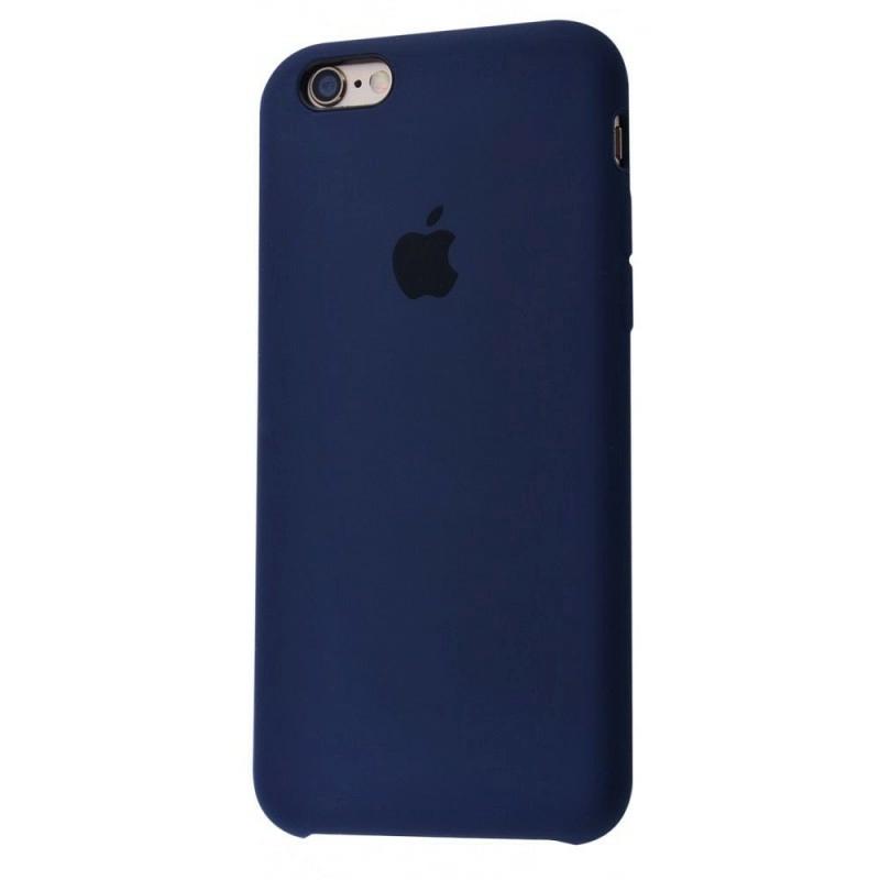 Чохол Silicone Case (Premium) для iPhone 6 / 6s Midnight Blue